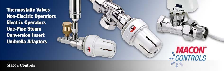 Macon Controls Thermostatic Valves, Operators